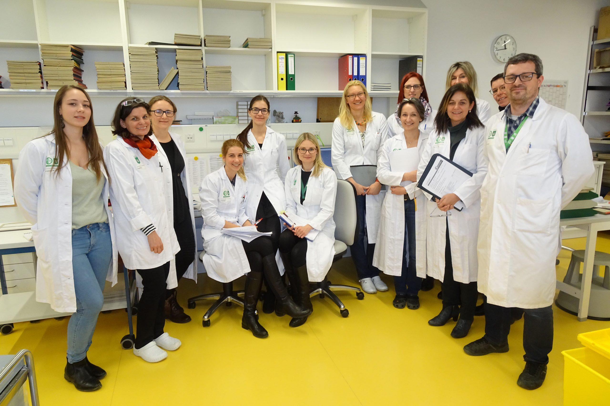 QM-Partner: Schulungsteilnehmerinnen Universität Graz Institut für Pathologie