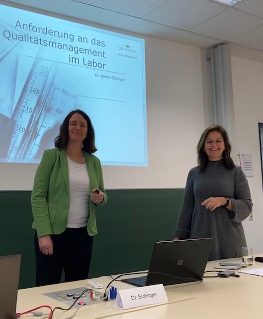 Seminar im KIT – Qualitätssicherung im analytischen Labor